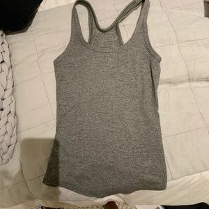 Lulu gray tank - excellent condition! (6)